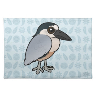 Birdorable Boat-billed Heron Placemat