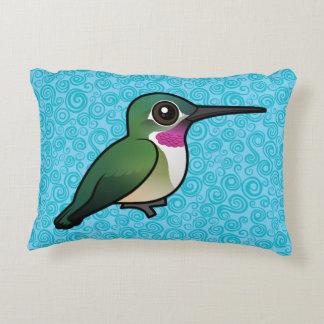 Birdorable Broad-tailed Hummingbird Accent Pillow
