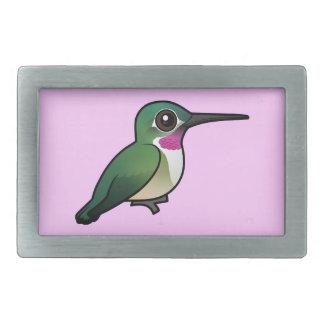 Birdorable Broad-tailed Hummingbird Belt Buckle