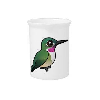 Birdorable Broad-tailed Hummingbird Drink Pitcher