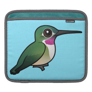 Birdorable Broad-tailed Hummingbird iPad Sleeve