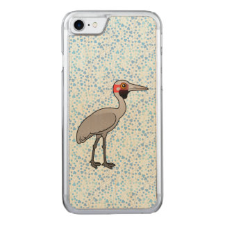 Birdorable Brolga Carved iPhone 7 Case