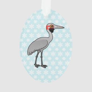 Birdorable Brolga Ornament