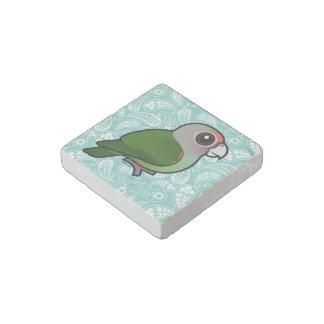 Birdorable Brown-necked Parrot Stone Magnet