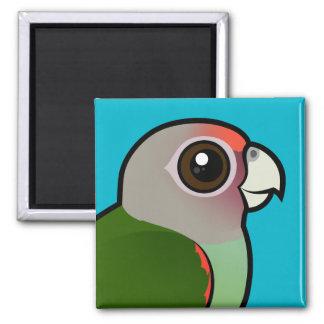 Birdorable Brown-necked Parrot Fridge Magnets