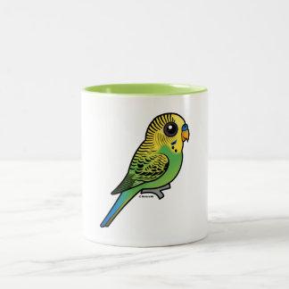 Birdorable Budgerigar Two-Tone Coffee Mug