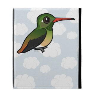Birdorable Buff-bellied Hummingbird iPad Folio Cover