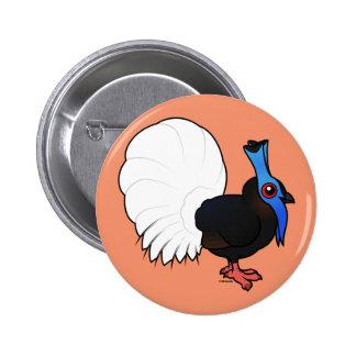 Birdorable Bulwer's Pheasant Button