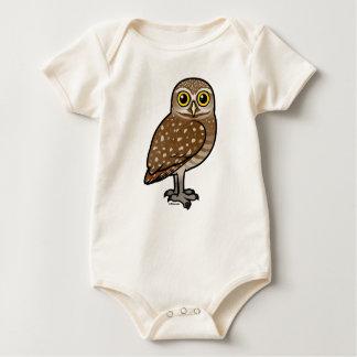 Birdorable Burrowing Owl Baby Bodysuit