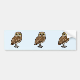 Birdorable Burrowing Owl Bumper Sticker