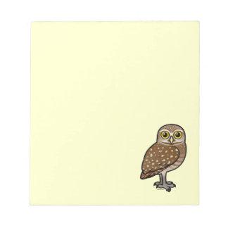 Birdorable Burrowing Owl Memo Notepads