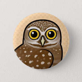 Birdorable Burrowing Owl Pinback Button