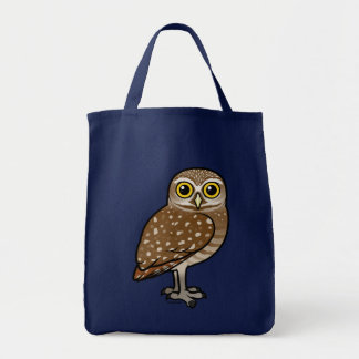 Birdorable Burrowing Owl Tote Bag