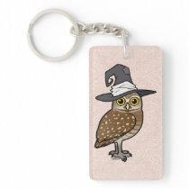 Birdorable Burrowing Owl Witch Keychain