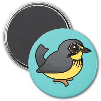 Birdorable Canada Warbler Fridge Magnets
