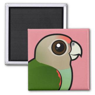 Birdorable Cape Parrot Refrigerator Magnets