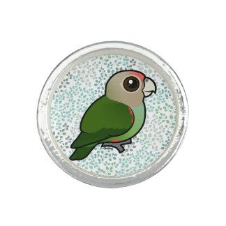 Birdorable Cape Parrot Rings