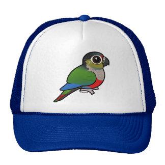 Birdorable Carmesí-hinchó el Parakeet Gorro