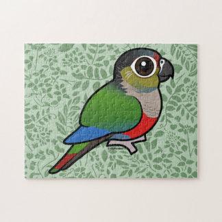 Birdorable Carmesí-hinchó el Parakeet Rompecabeza Con Fotos