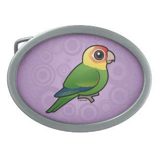 Birdorable Carolina Parakeet Belt Buckles
