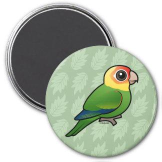 Birdorable Carolina Parakeet 3 Inch Round Magnet