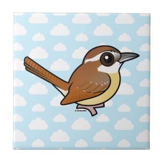 Birdorable Carolina Wren Ceramic Tile