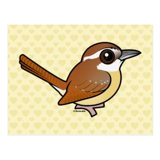 Birdorable Carolina Wren Postcard
