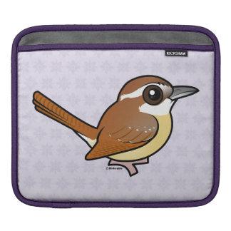 Birdorable Carolina Wren Sleeve For iPads