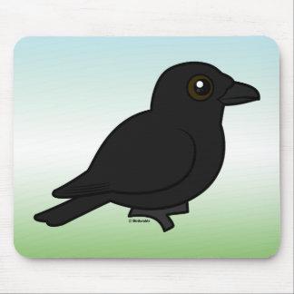 Birdorable Carrion Crow Mouse Pad