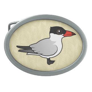 Birdorable Caspian Tern Belt Buckles