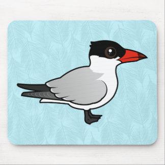 Birdorable Caspian Tern Mouse Pad