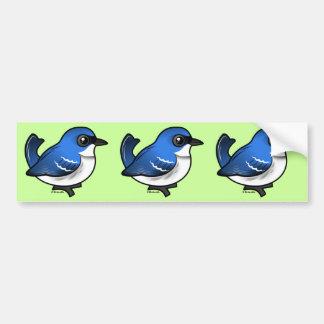 Birdorable Cerulean Warbler Bumper Sticker