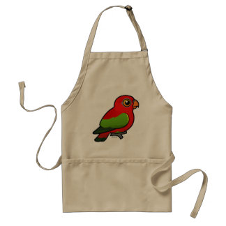 Birdorable Chattering Lory Adult Apron