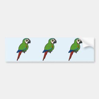 Birdorable Chestnut-fronted Macaw Bumper Sticker