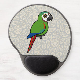 Birdorable Chestnut-fronted Macaw Gel Mouse Pad