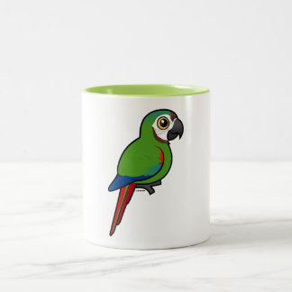 Birdorable Chestnut-fronted Macaw Two-Tone Coffee Mug