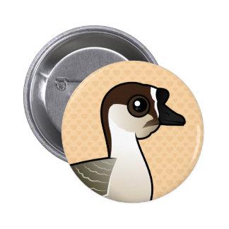 Birdorable Chinese Goose Pinback Button