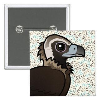Birdorable Cinereous Vulture Button