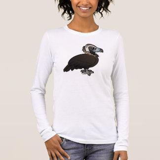 Birdorable Cinereous Vulture Long Sleeve T-Shirt