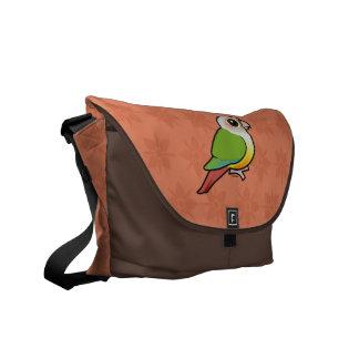 Birdorable Cinnamon Green-cheeked Conure Messenger Bag