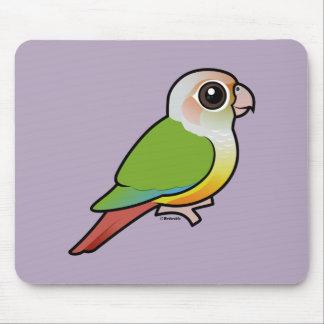Birdorable Cinnamon Green-cheeked Conure Mouse Pad