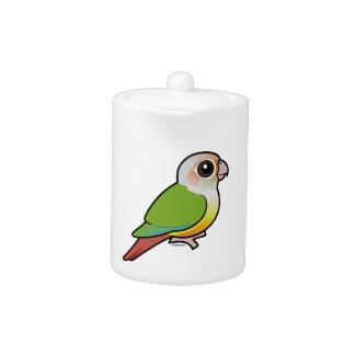 Birdorable Cinnamon Green-cheeked Conure Teapot