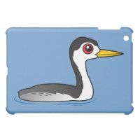 Birdorable Clarke's Grebe Case Savvy iPad Mini Finish Case