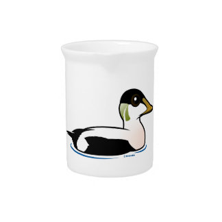 Birdorable Common Eider Beverage Pitcher