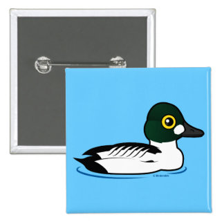 Birdorable Common Goldeneye Button