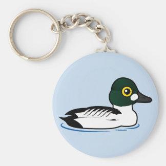 Birdorable Common Goldeneye Keychains