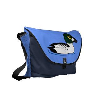 Birdorable Common Goldeneye Messenger Bag