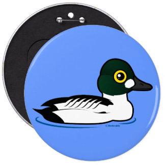 Birdorable Common Goldeneye Pinback Button