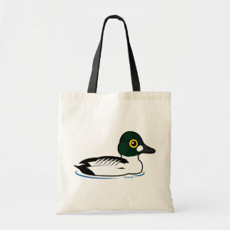 Birdorable Common Goldeneye Tote Bag