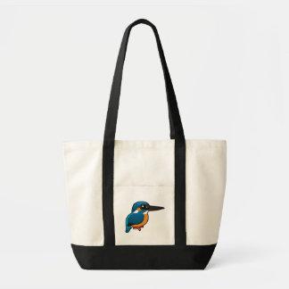 Birdorable Common Kingfisher Tote Bag